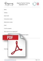 QTT Application Form PDF